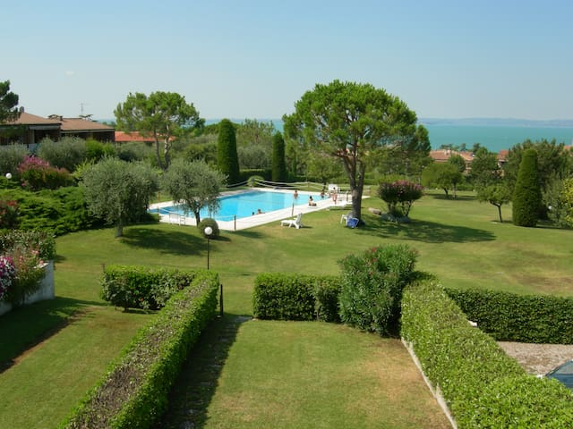 House with swimming pool & tennis - Bardolino