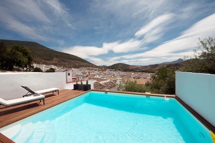Casita avec superbe vue et piscine privée