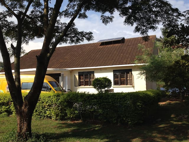 Bikeventures House Jinja - whole house