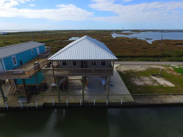Bay View is Waterfront in Grand Isle with Boat Access