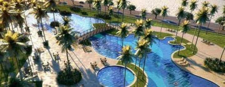 Espetacular apartamento novo Golf Ville Resort