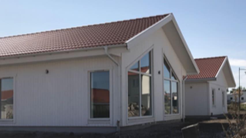 Nybyggt enplanshus på ca 259 kvm i Strängnäs