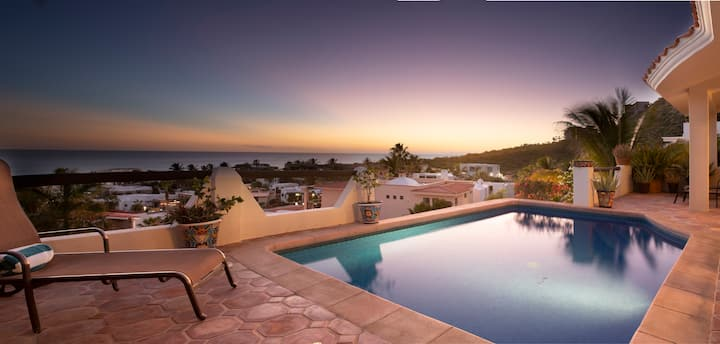 Ocean View Mexican Chic 4BR Pedregal Private Pool