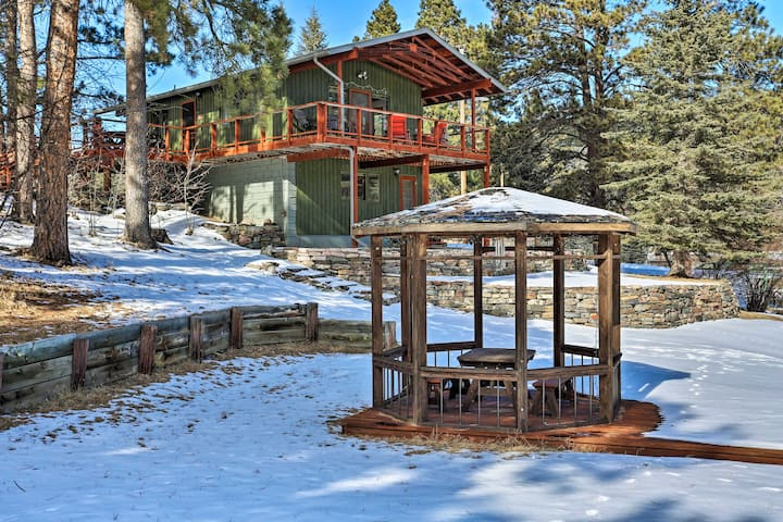 NEW! Tranquil Retreat on Creek w/ Deck on 30 Acres