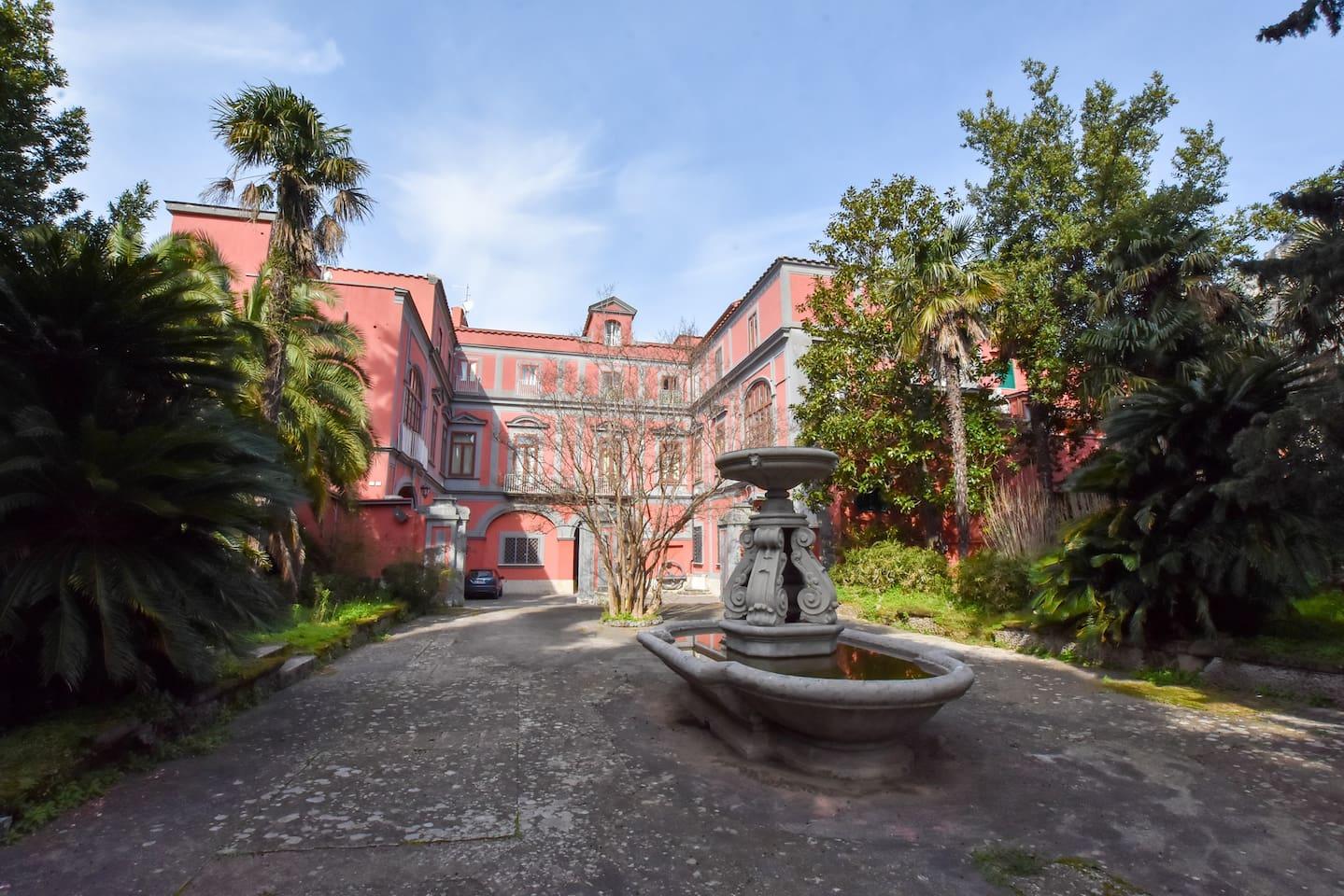 The garden of Villa Giuseppina