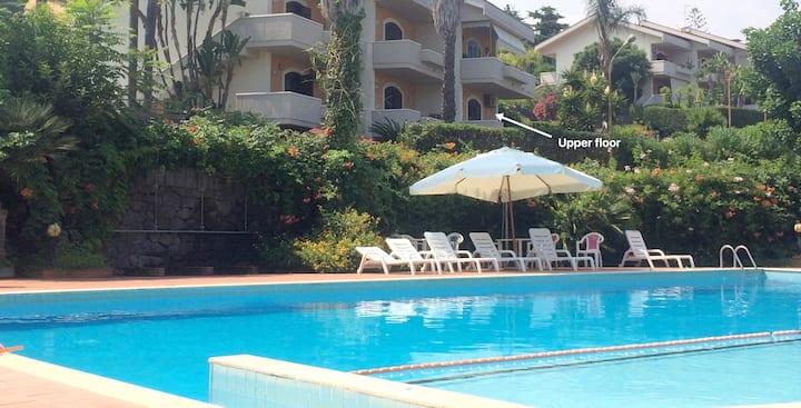 Private sea access, condominium with swimming pool