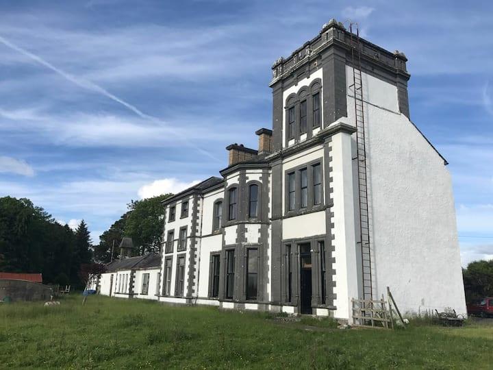 Creagh House Ballinrobe, 5 bedroom accommodation.