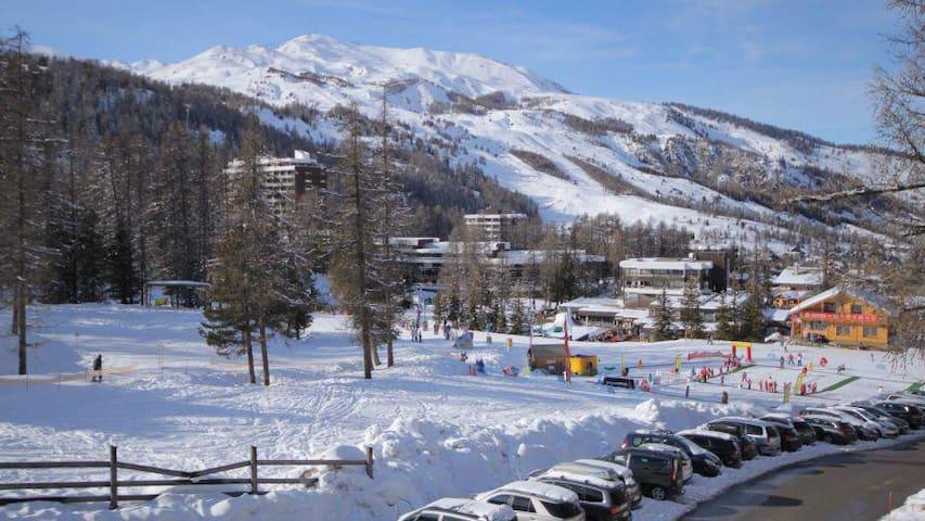 T2 Vars Ski aux pieds .Sports été Coeur de station - Vars - Daire
