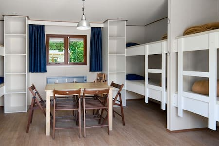 6-8 persons Chalet in Amsterdam Forest (Bos) - Amstelveen - Chalet