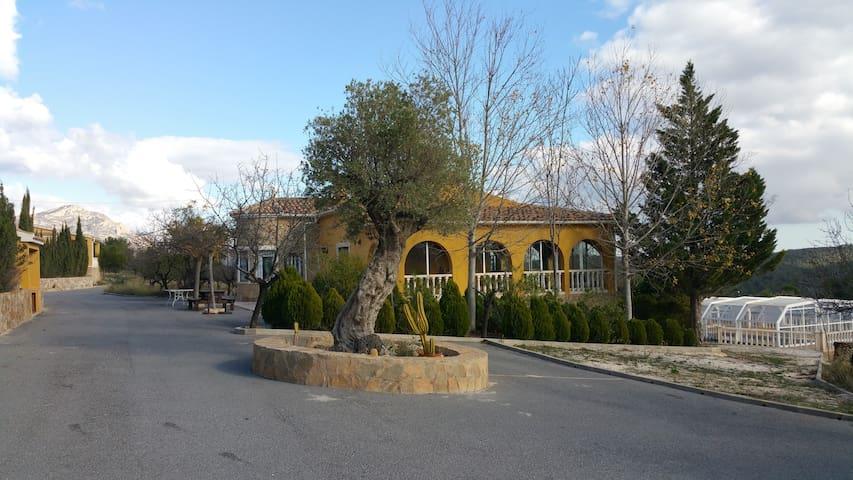 Villa in Sierra del Maigmó, Alicante.