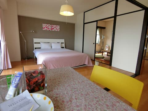 #201 Cozy Apartment, 60sqm, Free Park & WiFi