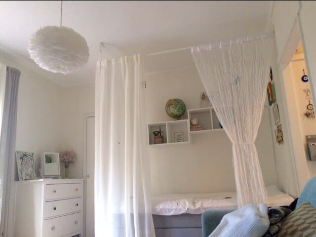 Bright studio apt near city & events - Stockholm