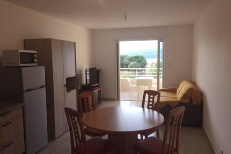 STUDIO PROPRIANO VUE MER Proche du centre ville - Propriano - Apartament