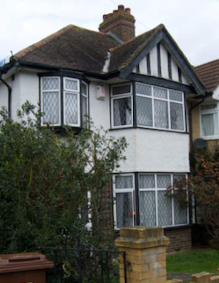 South East London. House with garden.