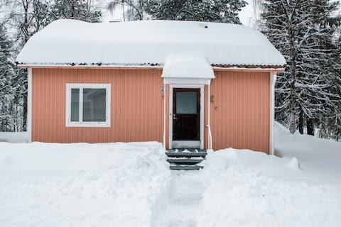 Hus vid Vindelälven