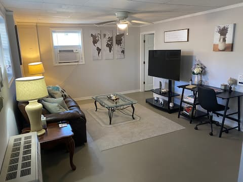 Newly renovated, private basement apartment!