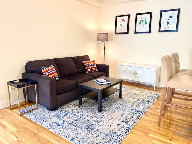 ⭐️Great Stay⭐️Beautiful 2 Bed | In Hoboken