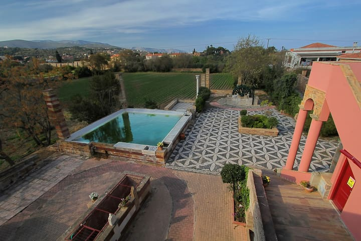 υπέροχο δίκλινο με δύο μονά κρεβάτια - Chios - Boutique-hôtel
