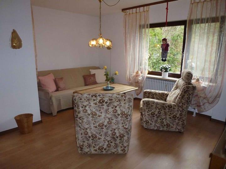 """Ferienwohnung """"Obelix"""" am Kurpark, (Bad Bellingen), Ferienwohnung 55qm, 1 Schlafzimmer, max. 3 Personen"""
