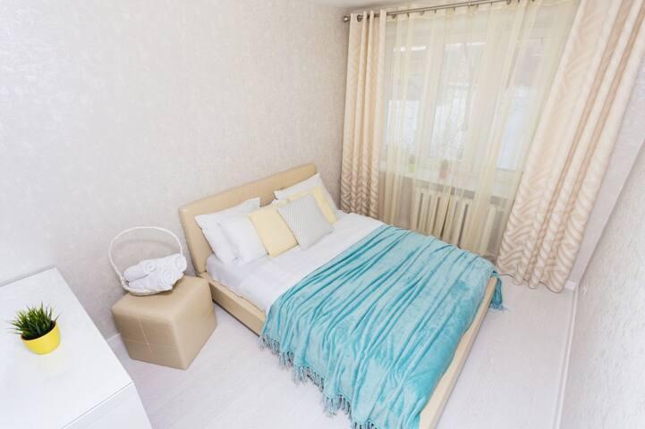 Стильные апартаменты на Мелькайте