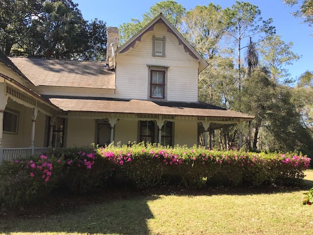 Victorian Farmhouse in Alachua - Alachua - Huis