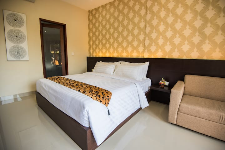 Cozy suite at Bisma House next to Legian st. #3
