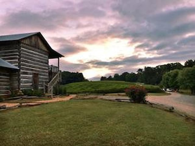 Rustic 1820's Cabin in the Vines - Dahlonega