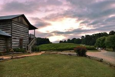 Rustic 1820's Cabin in the Vines - Dahlonega - Kabin
