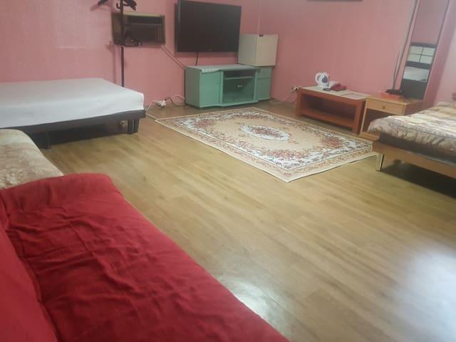 Yaksu hot-spring Motel (Seoraksan National Park)