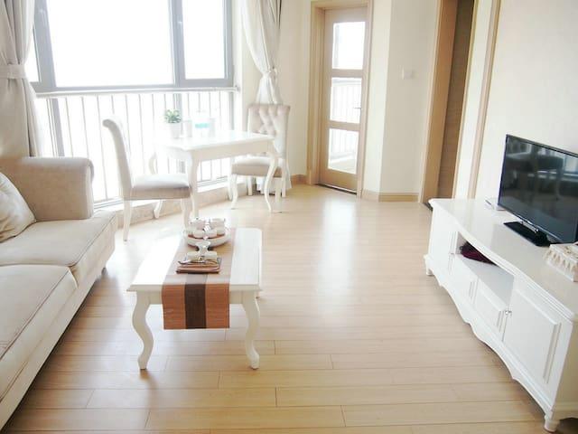 崂山区石老人休闲度假房,独立卧室客厅,让你尽享私人空间,可做饭 - Qingdao