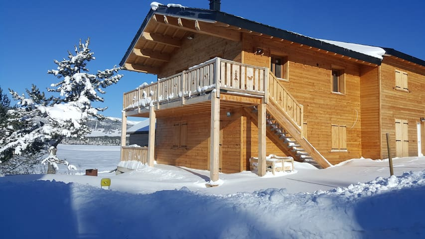 Appartement chalet au bord du lac