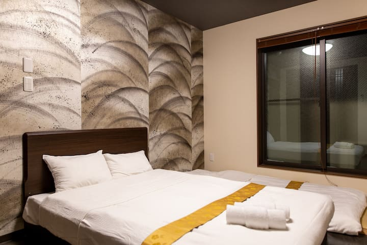 The Pagoda Experience: Kyoto St, Double bed 204