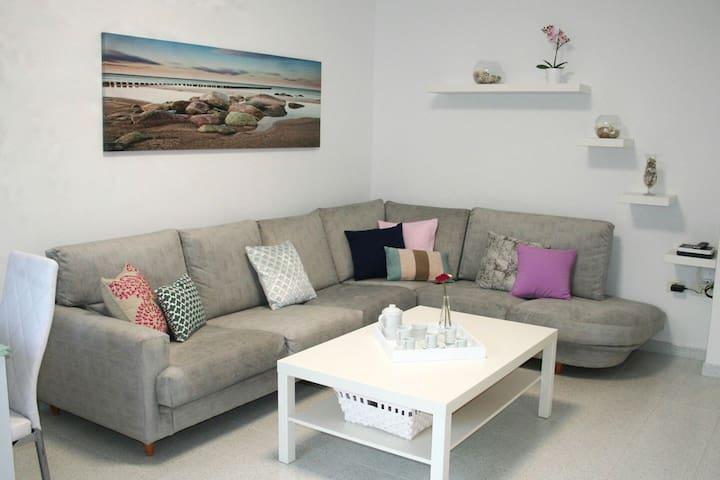 Wi-Fi // Playa y paseo a 3min a pie - Playa Honda - Apartamento