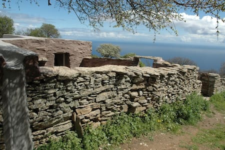 A CYCLADIC STONE HUT IN KEA, GREECE - Kea