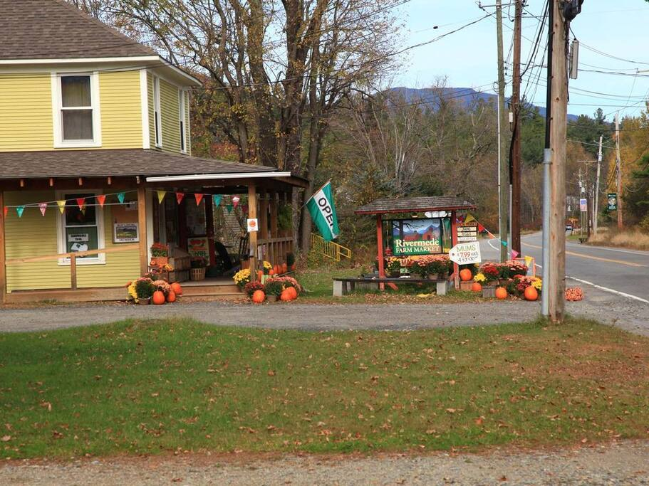 Rivermede Farm Store just two houses away!