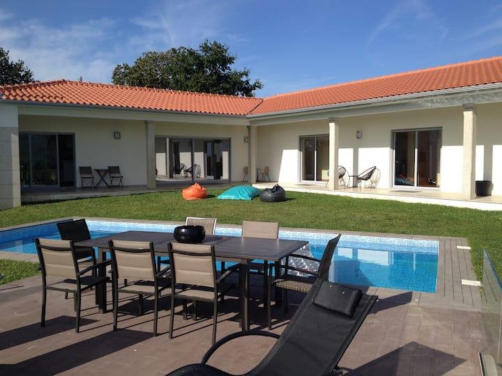 Chambre privée Piscine Maison Portugal