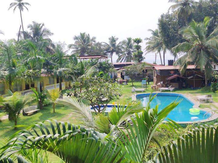 Manthan Beach Resort- Morjim Beach