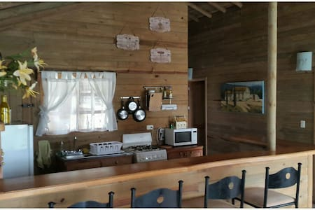 Small cozy log house in farm. - San José, CR - Casa