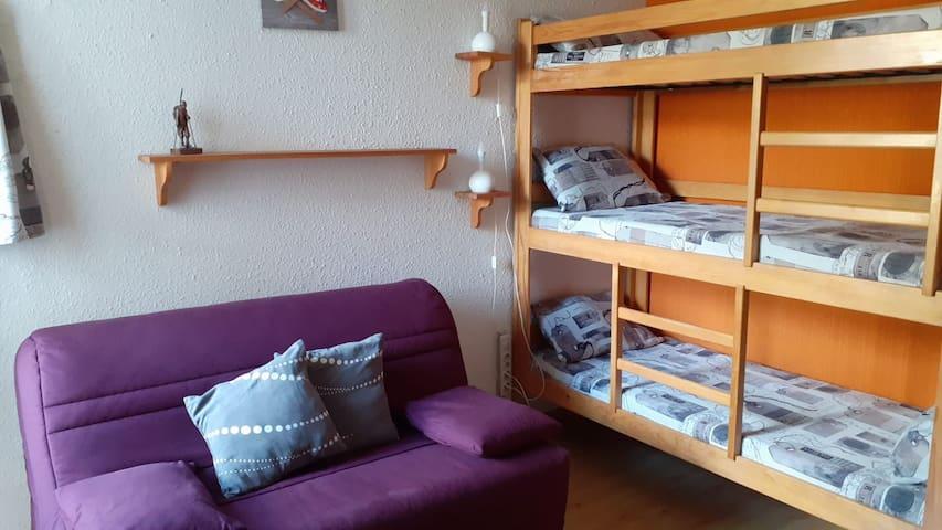 Petit studio à Montgenèvre
