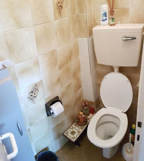 toilets next to your room