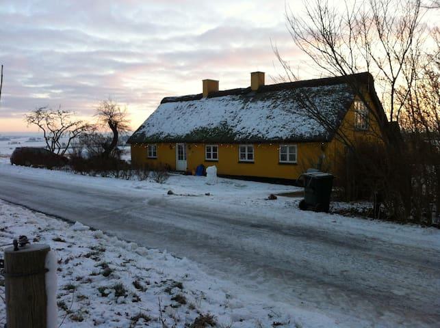 Hyggeligt bondehus tæt på havet - Knebel