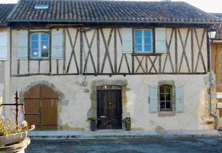Stylish Town House in Historic Medieval  Village - Peyrusse-Grande - Townhouse