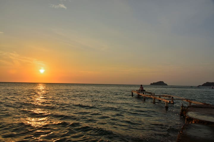 Atardecer Playa El Rodadero
