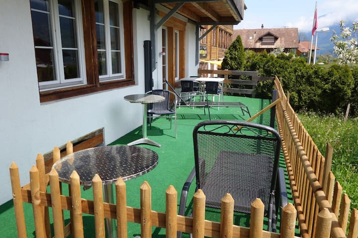 Apartment mountain view - Ringgenberg - Apartamento