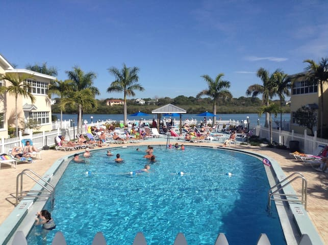 Barefoot Beach Resort - Ground Floor with Dock - Indian Shores - Condominium