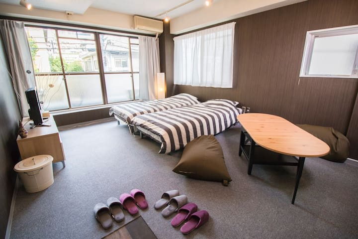 ROPPONGI ★HOTEL LICENSE /5min Stations/WIFI