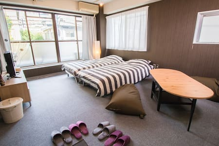 ROPPONGI ★HOTEL LICENSE /5min Stations/WIFI