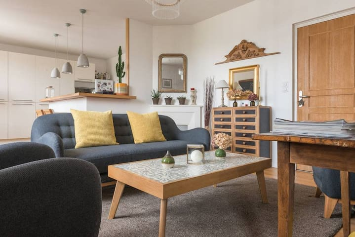 BEAUTIFUL APARTMENT WITH PRETTY GARDEN - CITY CENTER