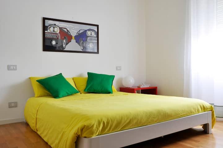 """BnB del Ferroviere"": room MI.NO"