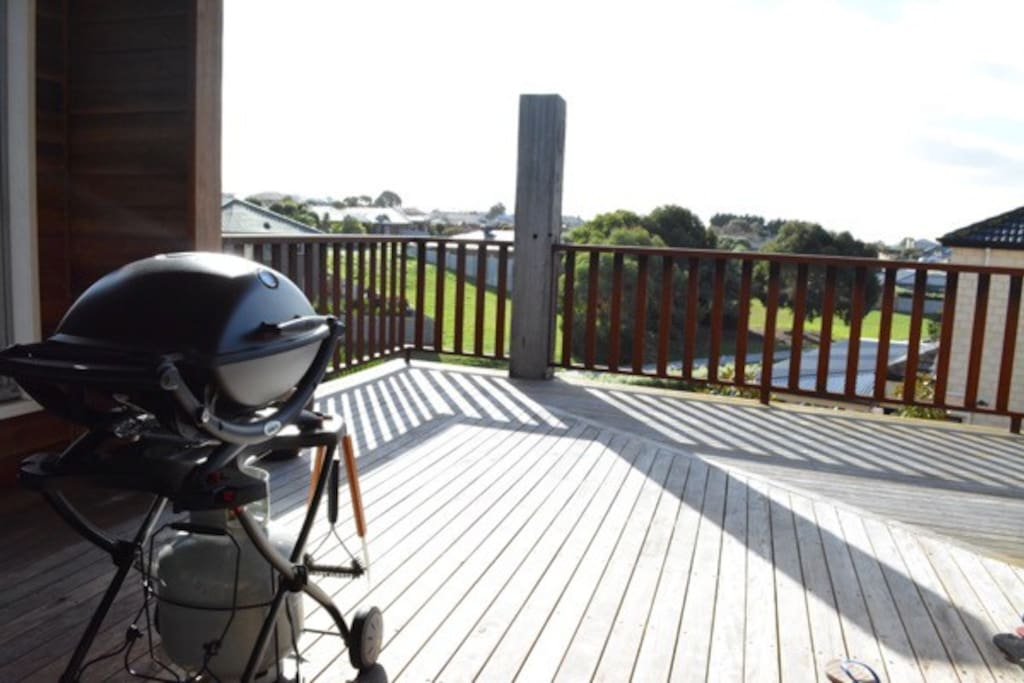 Balcony & webber bbq
